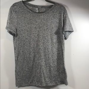 Gray and Black Speckled Divided H&M T-shirt Large